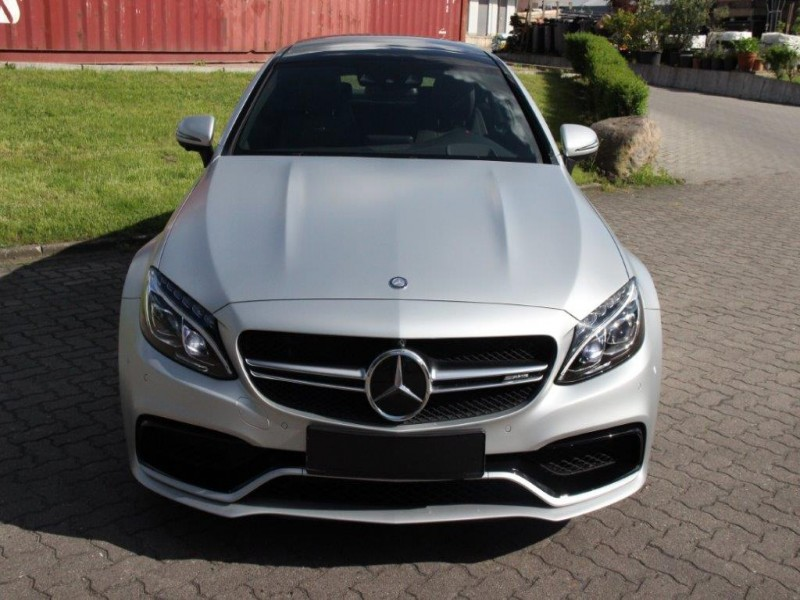 MERCEDES BENZ C 63 AMGs SPORT COUPE